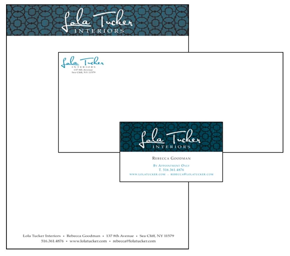 Lola Tucker Interiors - Letterhead Design