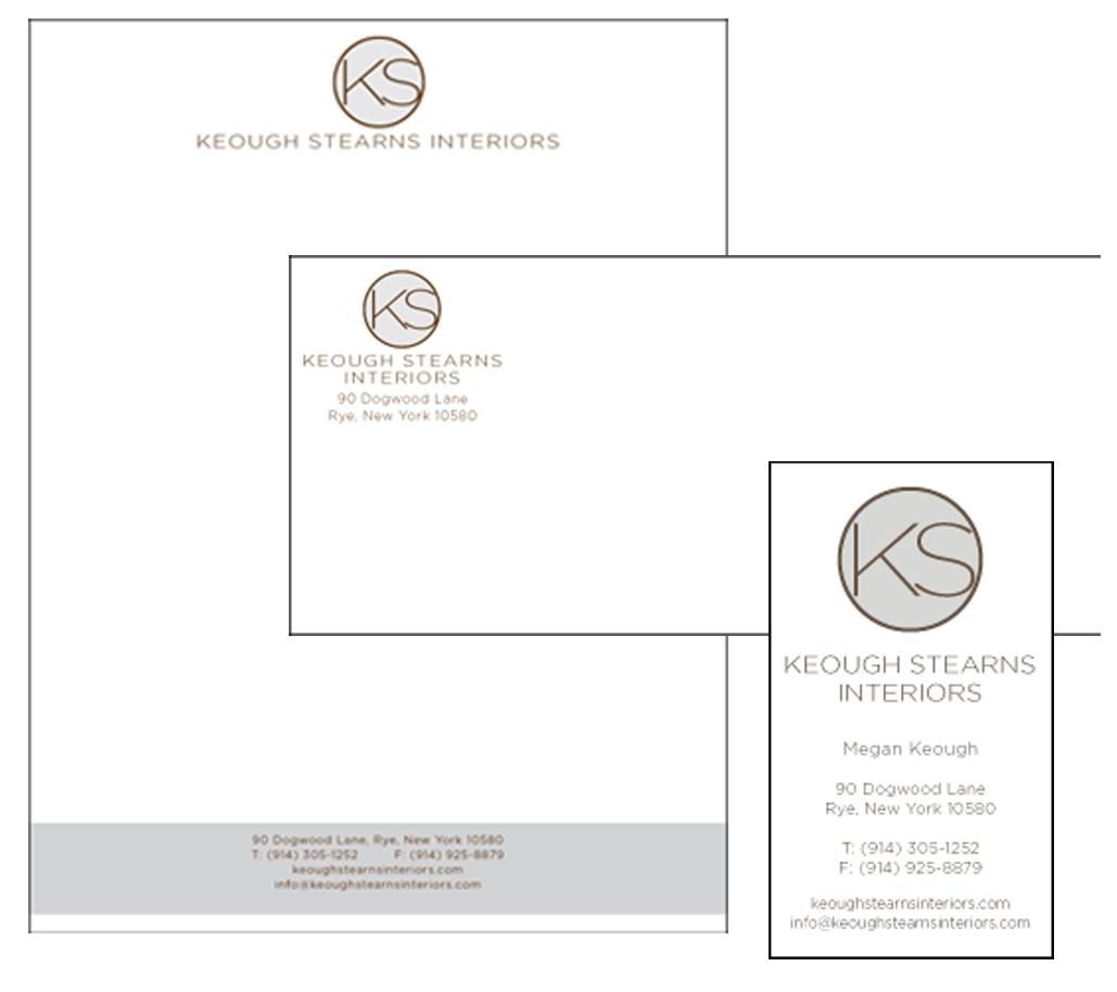 Keough Stearns Designs -Letterhead Design