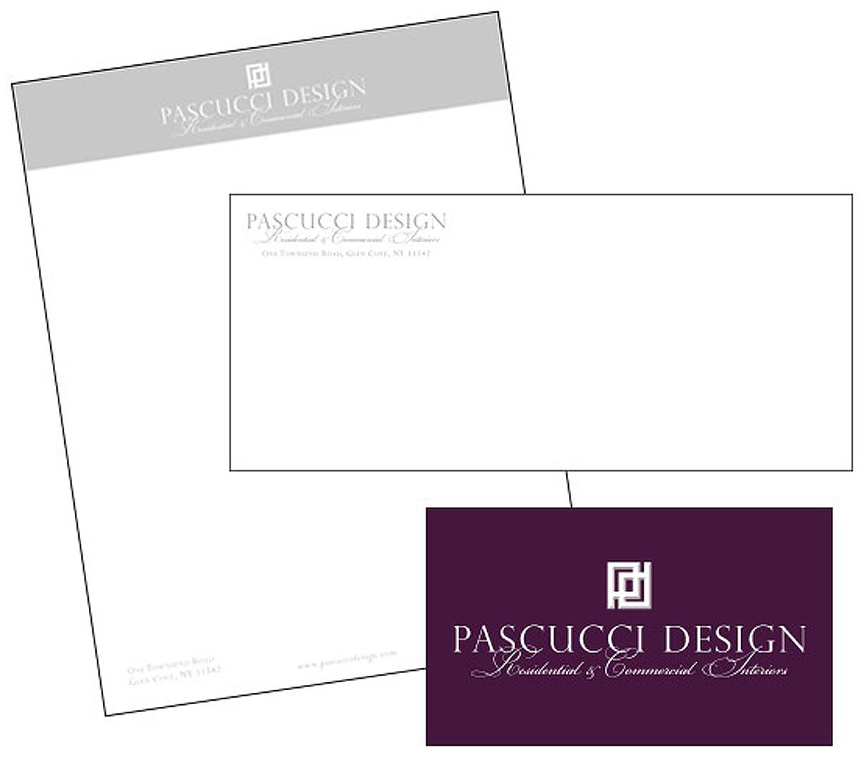 Pascucci Design - Letterhead Design