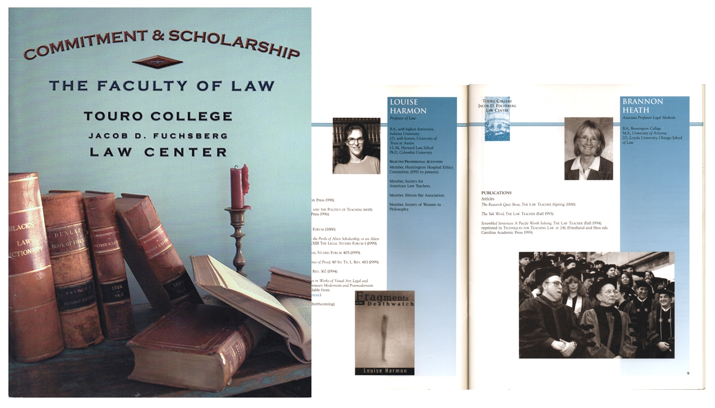 Touro Law School - Journal Design