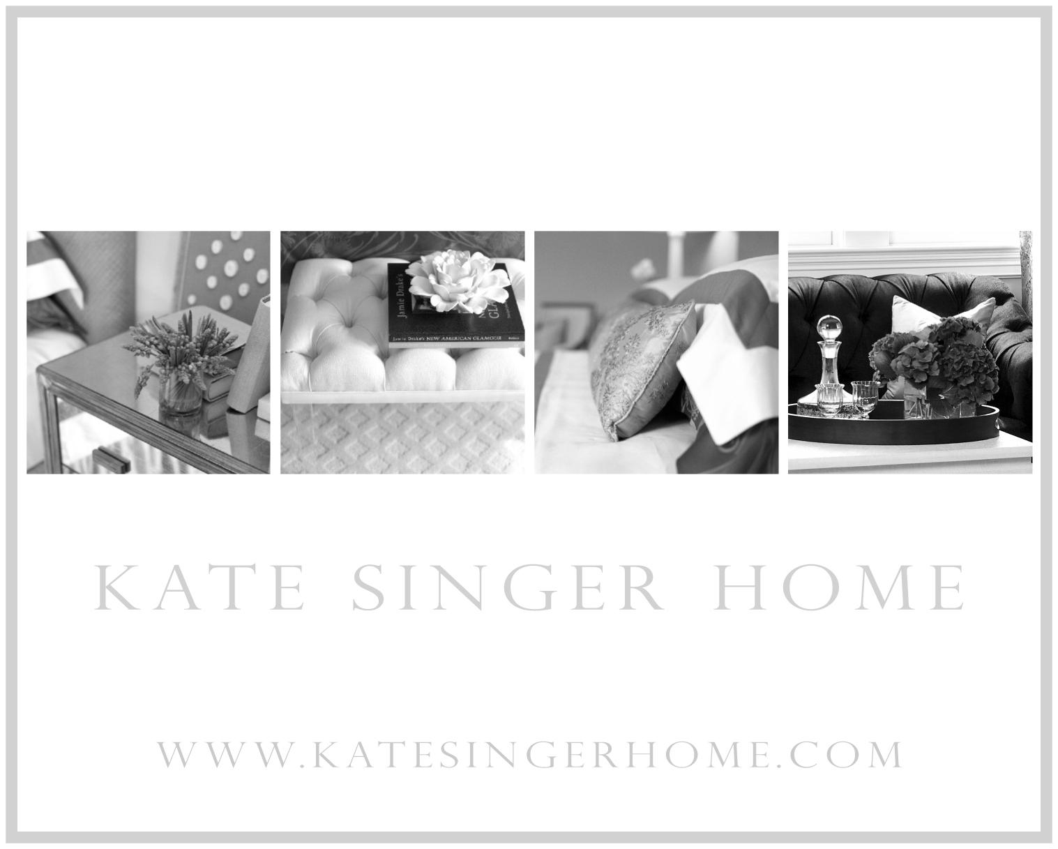 Kate Singer Home - Magazine Ad