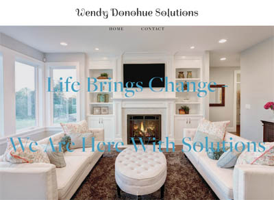 Wendy Donohue Solutions - Website Design