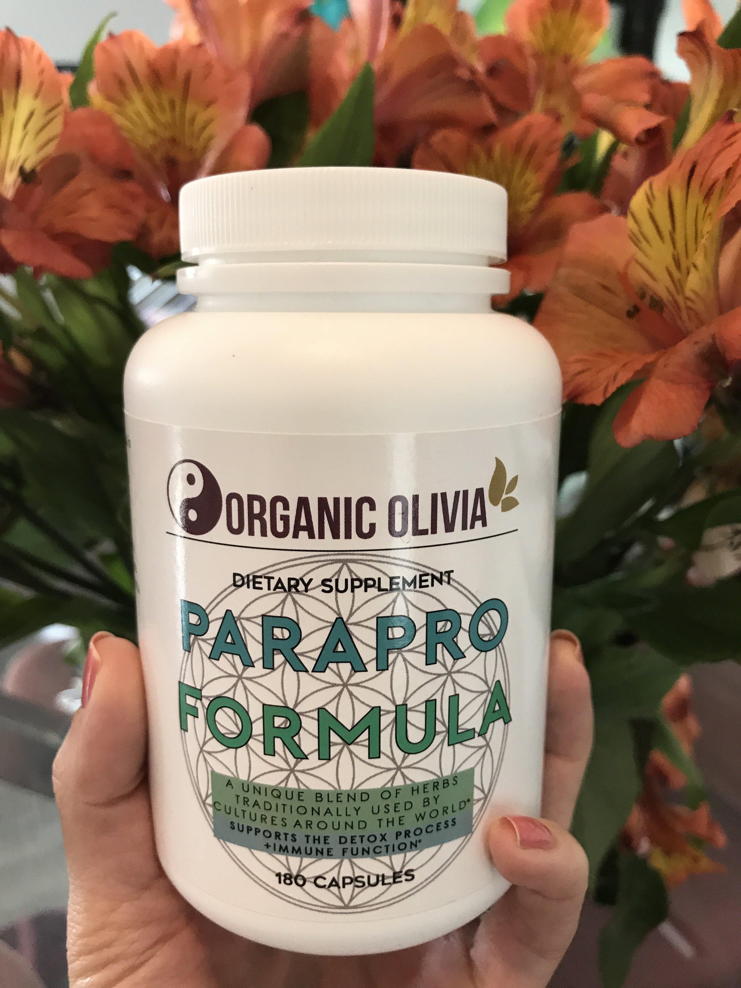 Organic Olivia ParaPro Formula Capsules