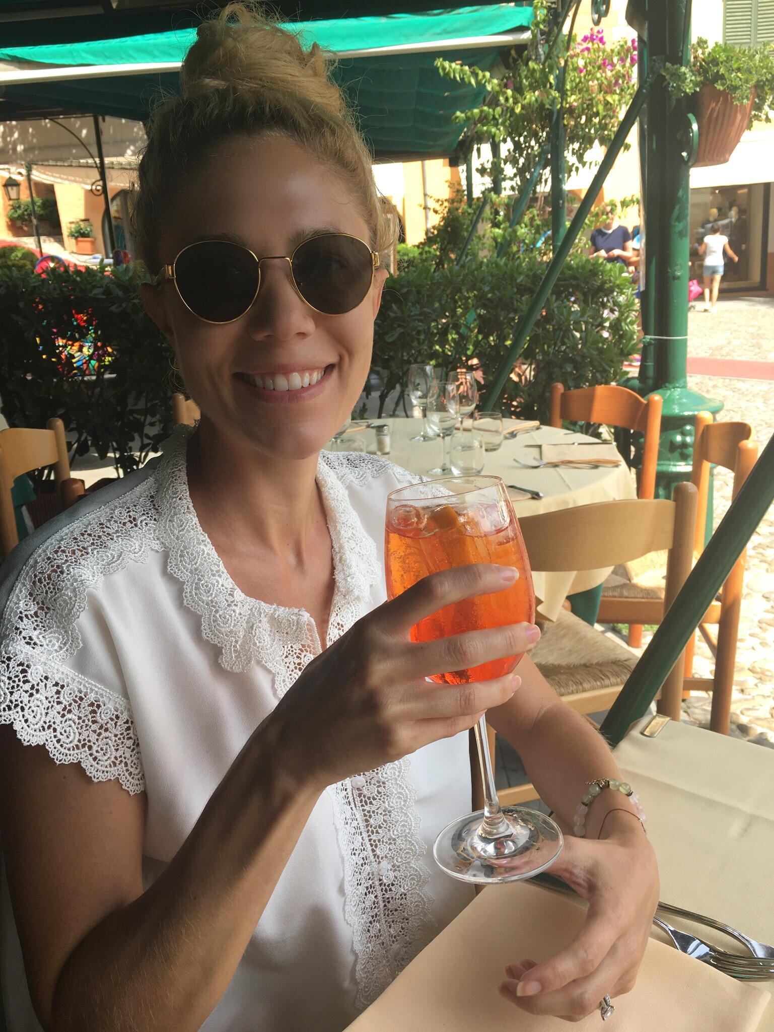 Aperol Spritz In Portofino