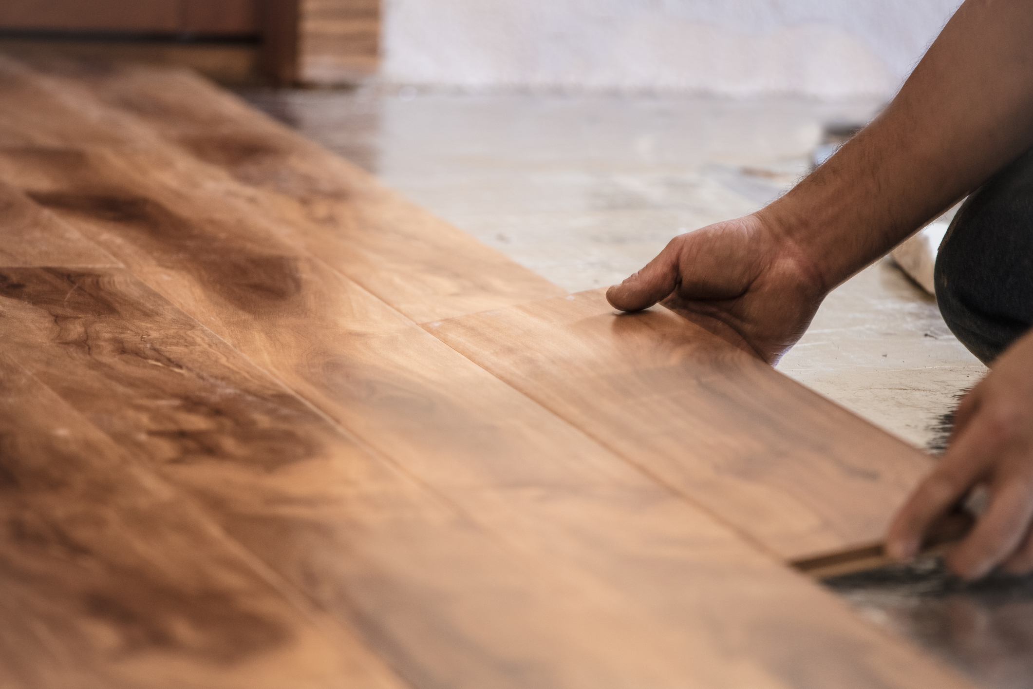 - What to choose depends mostly on what kind of subfloor you have.