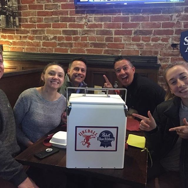 Sometimes it's good to get third place! Just ask Team O'Snap from The Grandview Tavern and Grill in Arvada, Colorado! Their third place showing nabbed them a heckin' cool vintage cooler! Nice work, y'all!