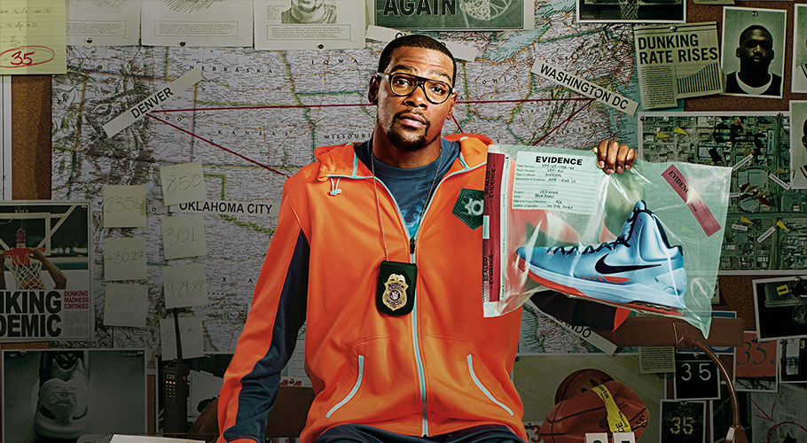 """""""Since I wear glasses as part of my daily routine, it was a natural extension for me to become involved with eyewear,"""" said Durant. """"This is a new venture for me, and I'm excited for fans to see the final outcome of the product. As with my footwear, I haven't compromised any technical details for aesthetics, and vice versa."""""""