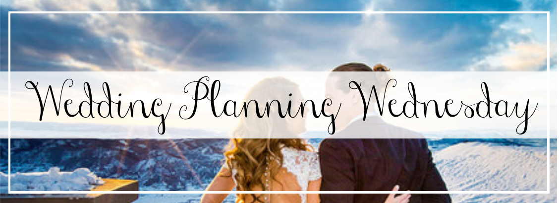 Wedding Planning Wednesday - A Touch of Bliss