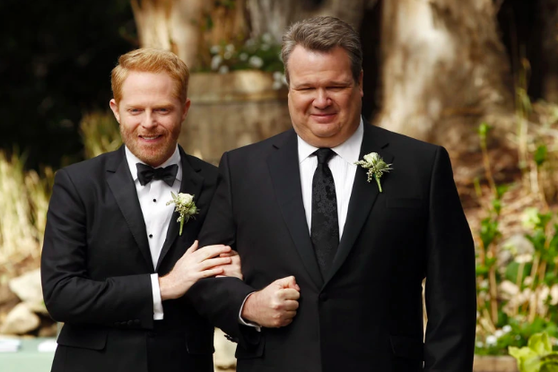 Wildfires and Tuxedos and Venues, Oh My!  Cam & Mitch,  Modern Family   Cam and Mitch are two of the most beloved TV dads ever, and their wedding was just as sweet. Despite many bumps in the road, the two tied the knot at Jay's country club. They managed to recover from wildfires, a missing tux, and fighting parents and make it official in a lovely sunset ceremony.  While wedding planners are often hailed as miracle workers, some things--such as wildfires--can't be avoided. We can, however, help make sure that all the little things go smoothly! By checking the tux before we leave the cleaners and keeping an eye on the weather, we can help lessen the stress day-of. No matter what part of your life you're in, we can help make your wedding the best it can be.