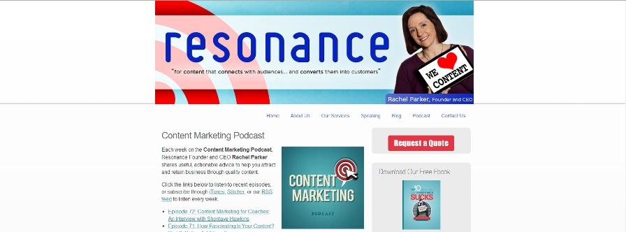 Resonance Marketing: Content Marketing Podcast