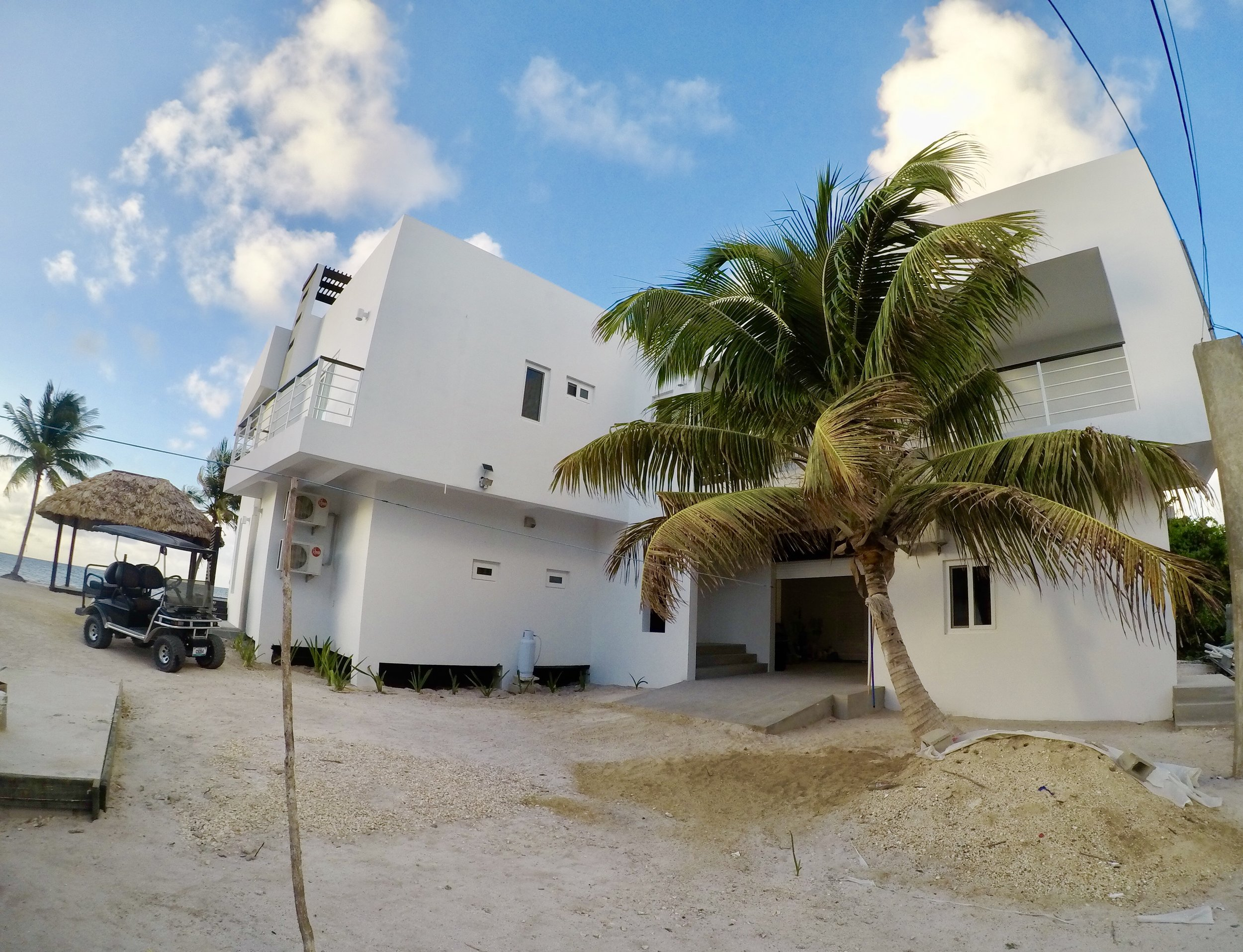 Third Coast Belize Driveway Entry Belize Vacation Rental.jpg