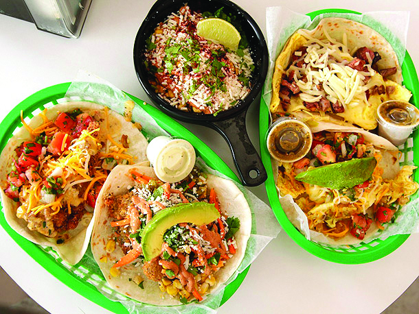 Torchy's Tacos, yum!