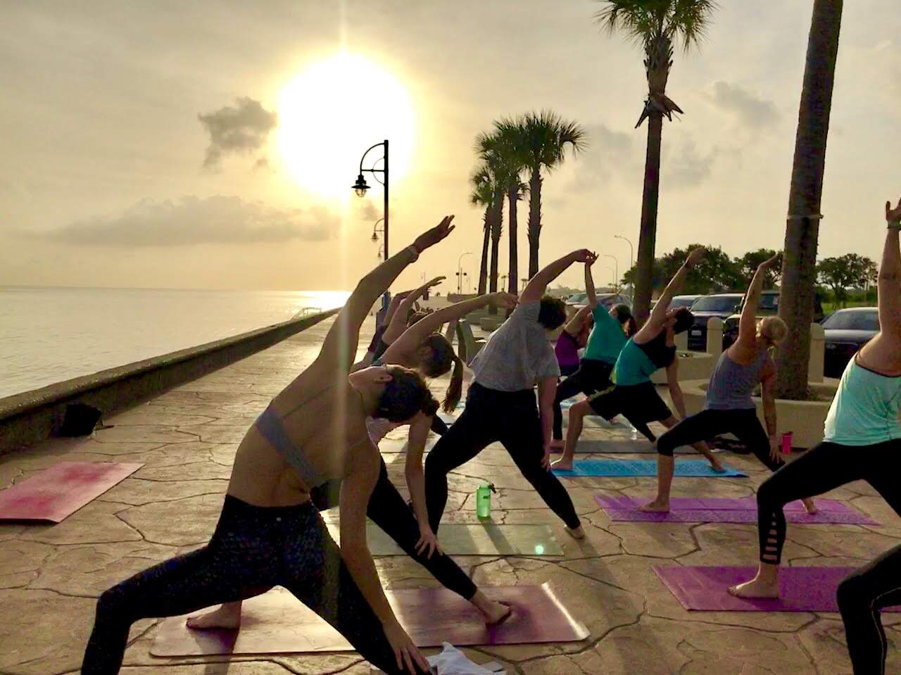 Thursday Sunrise Yoga at the Lakefront