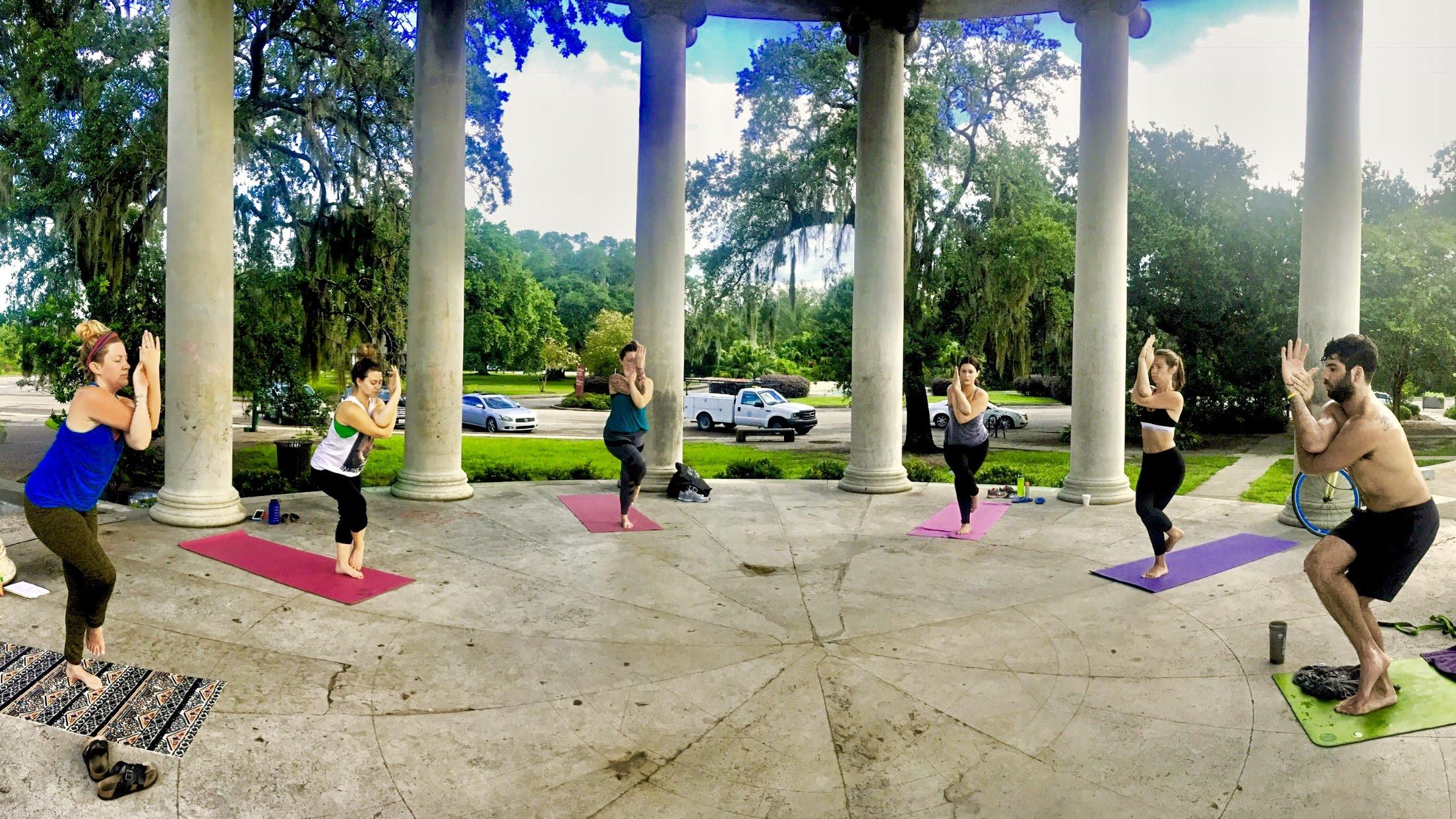 Wednesday Sunrise Yoga at City Park