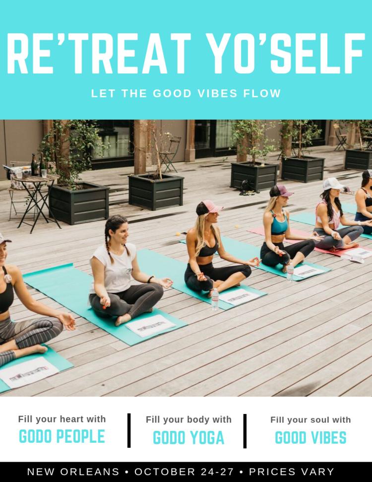 Retreat Yoself Poster Image