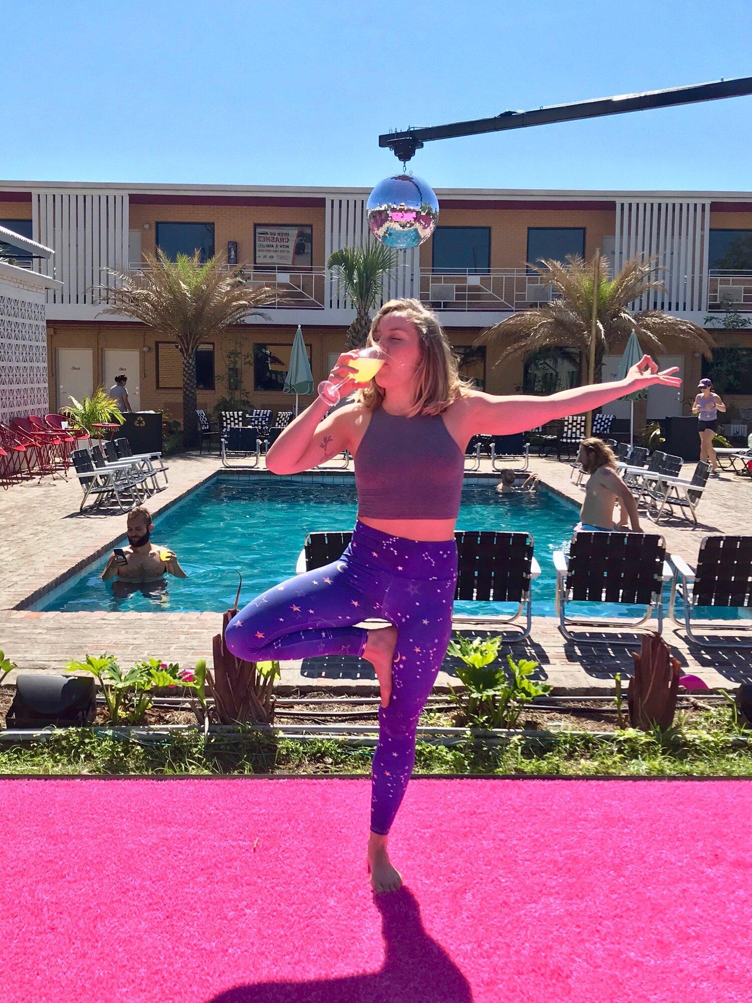 NOLA Tribe Yoga Retreat: Saturday Morning Yoga