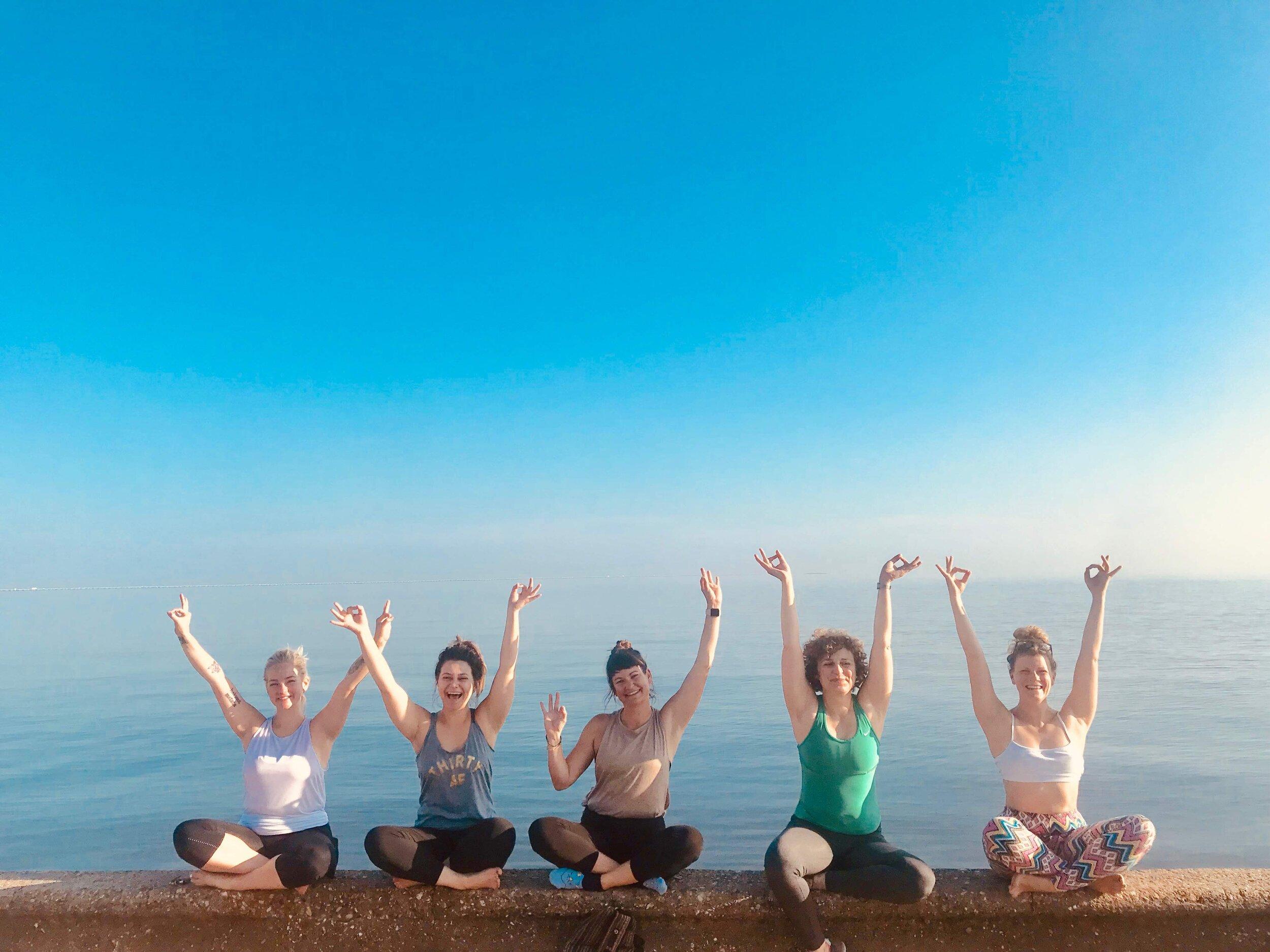 NOLA Tribe Yoga Retreat: Lakefront Yoga!