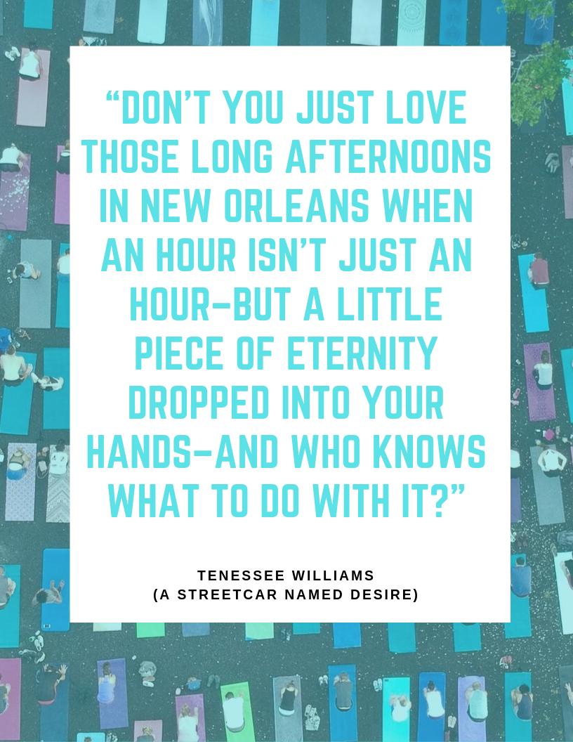 New Orleans Yoga Retreat