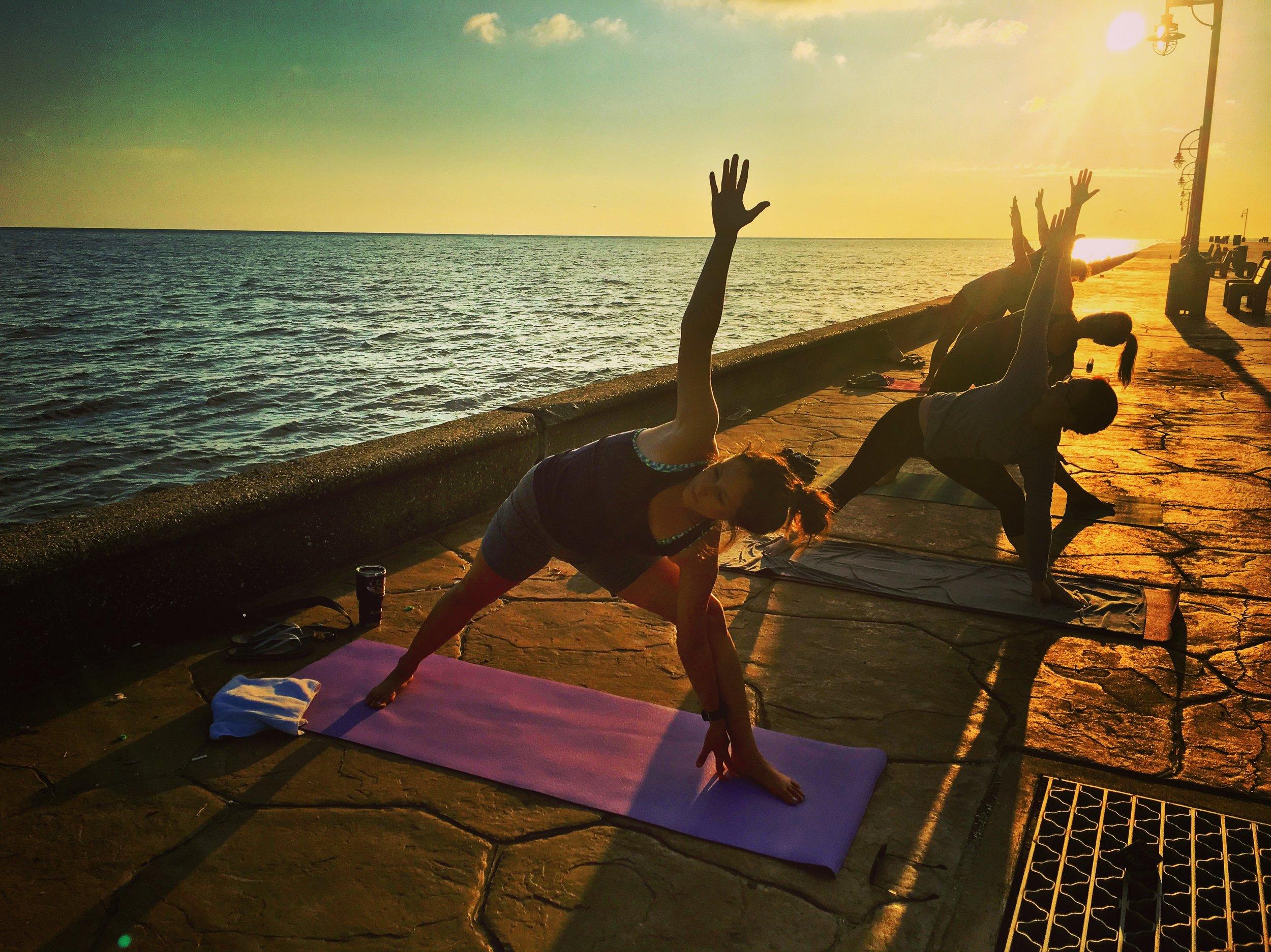 sunrise yoga lakefront.JPG