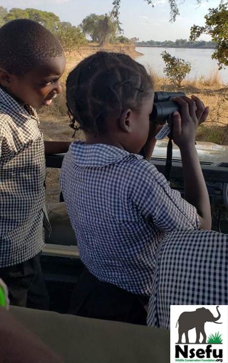 Chabwela Students on Safari
