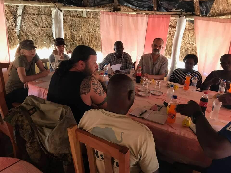 Nsefu.org team meeting.