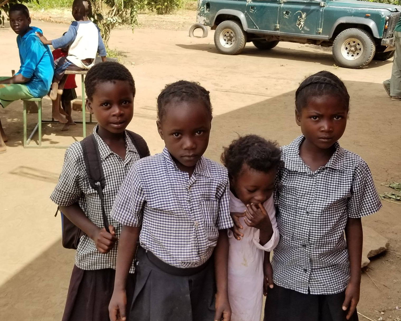 Students at Chabwera School