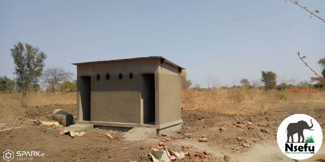Chabwera Toilets Near Completion