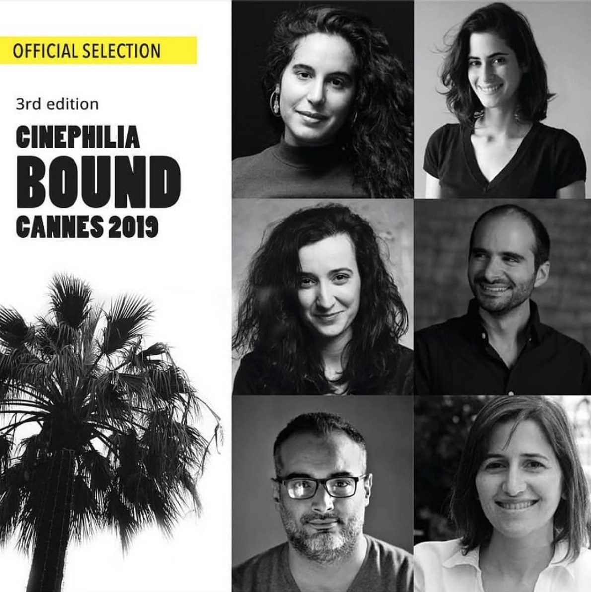 Participant at the 3rd edition  Cinephilia Bound Cannes  at the Cannes Film Festival 2019