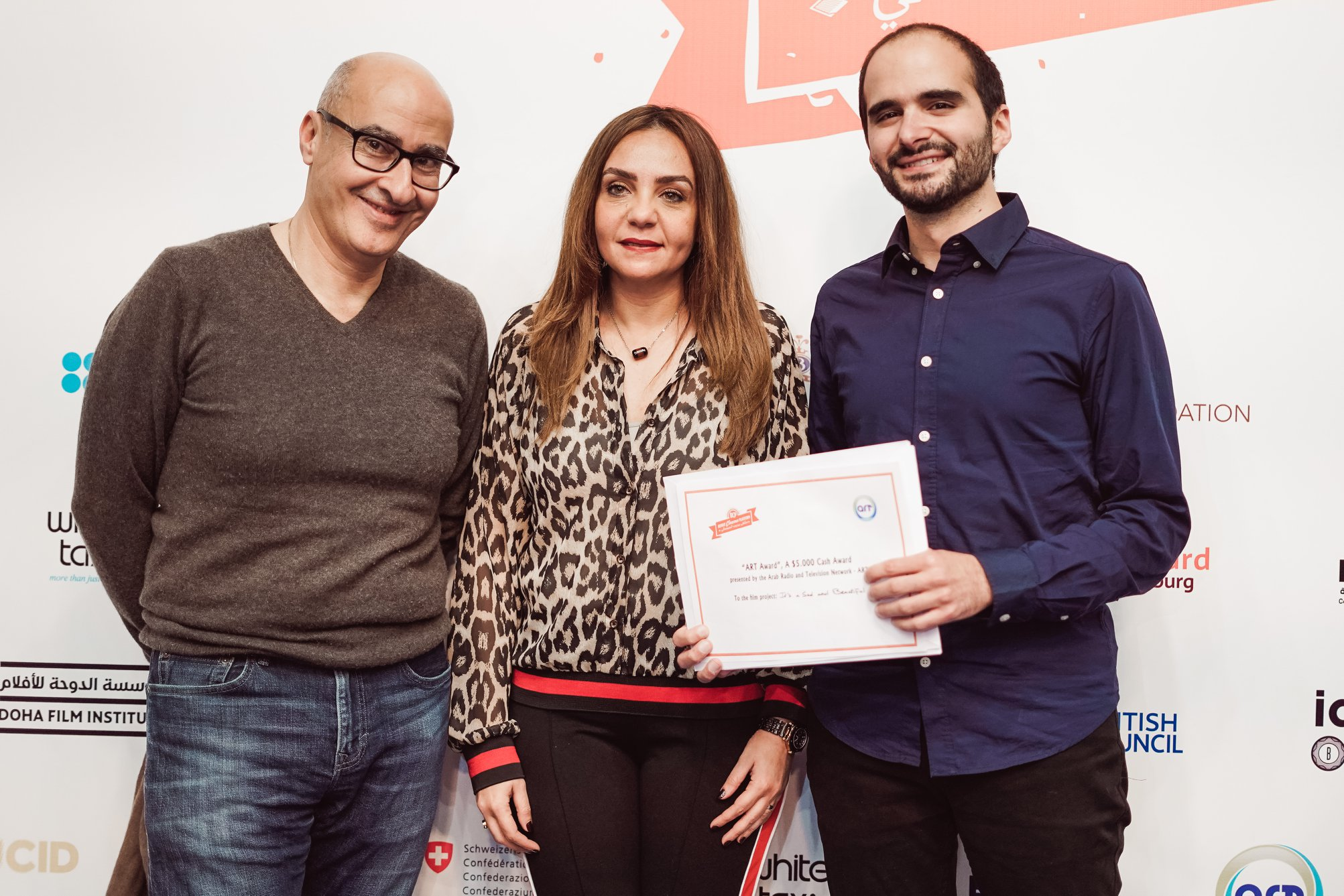 It's a Sad and Beautiful World , winner of the ART award at the 4th Beirut Cinema Platform