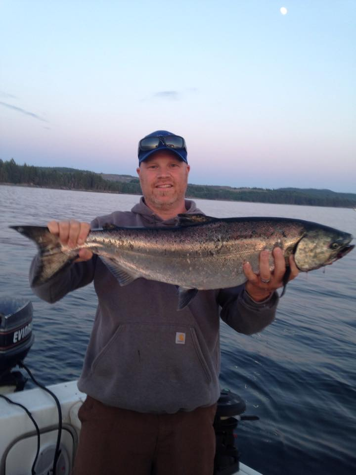Chris Carlos Powell River Fishing Report REMAX Realtor