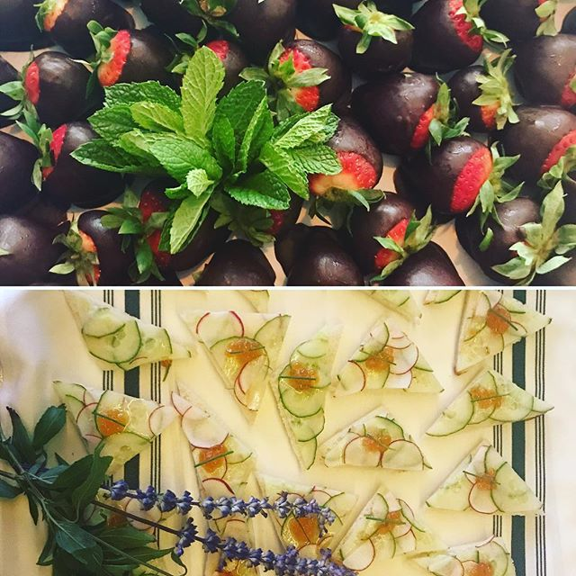 #horsdoeuvres #littlebitesofheaven #chocolatecoveredstrawberries #catering #nyc #events #photoshoot #behindthescenes #party #food #organic #farmersmarket #sustainable #kitchen #leed #gold #greenliving #eatclean #happy