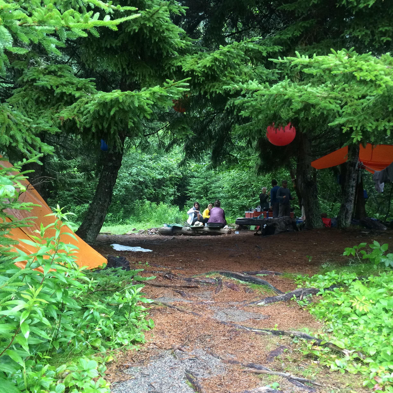 Canoeing, rock climbing & winter camping