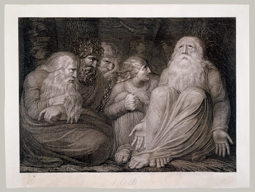 Job by William Blake (1793)