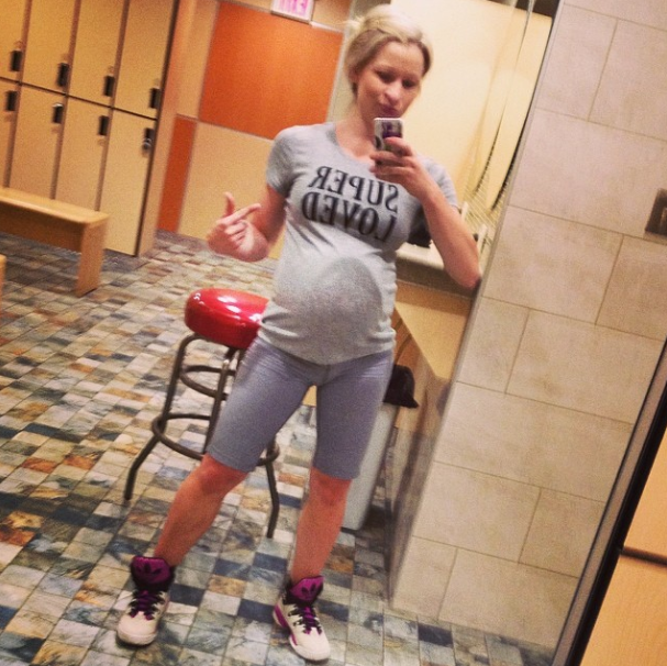 gym pregnant high top running shoes