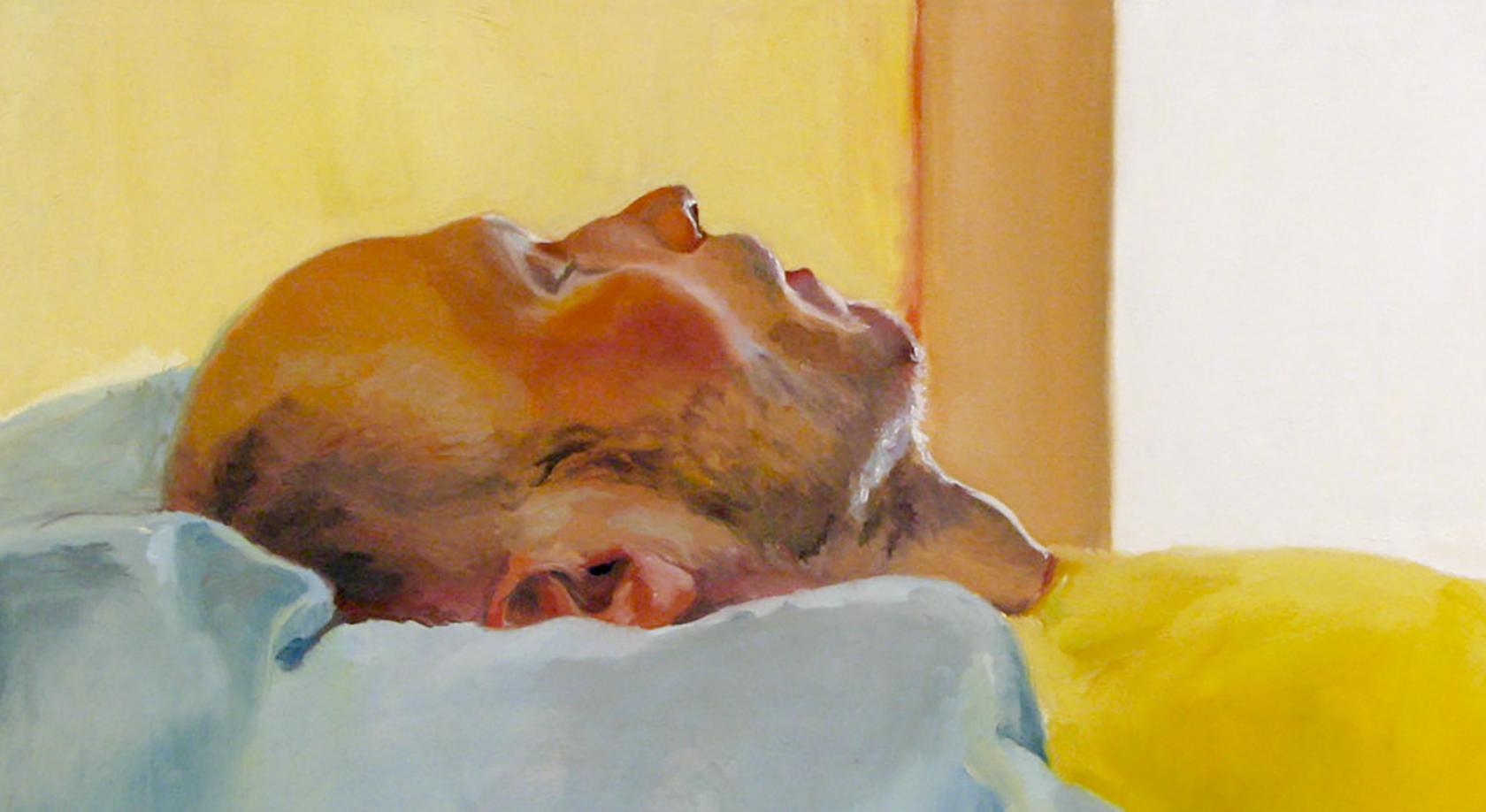 "2009 oil on panel 20""x15"""