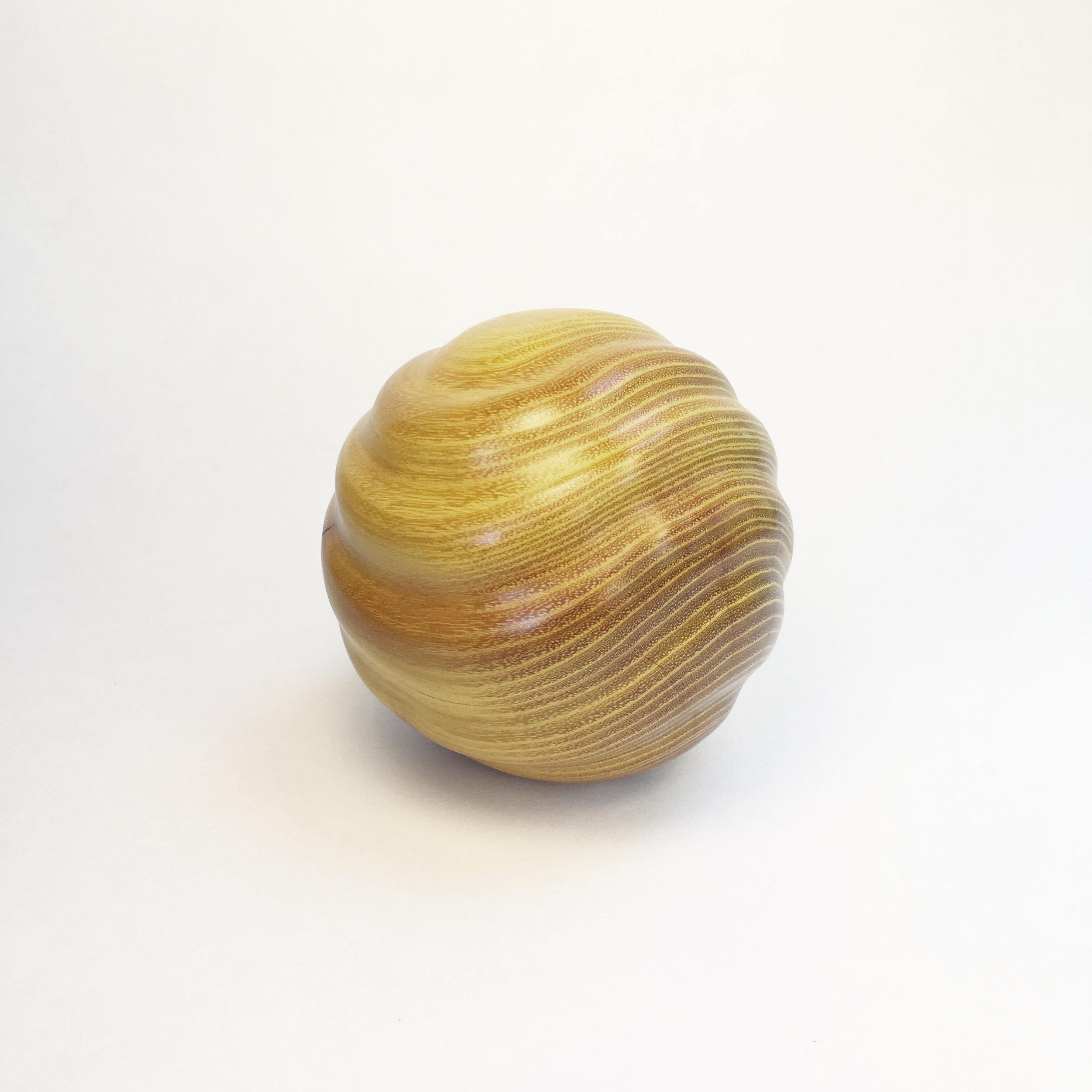 Spiral, osage orange, 2018