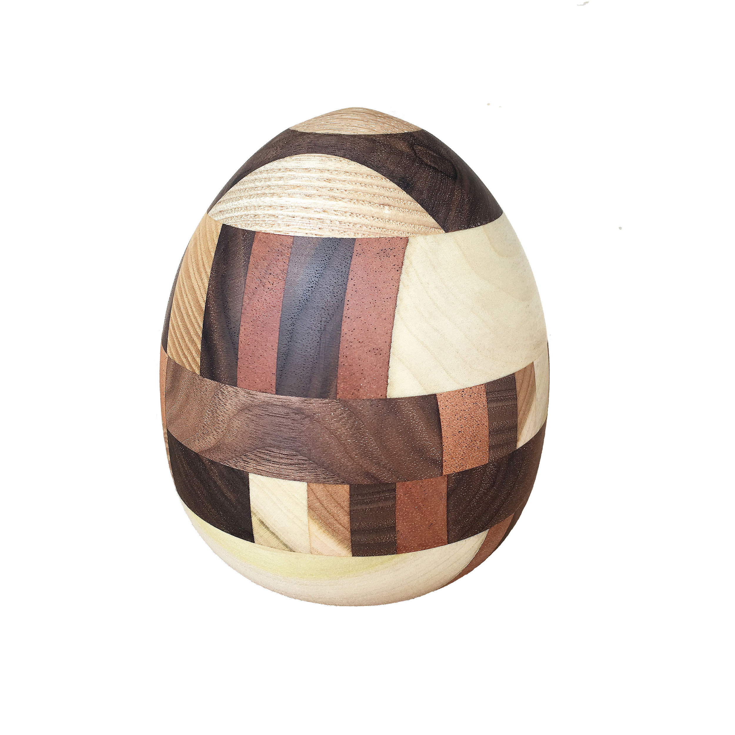 Original Color Egg, multiple woods, 2016