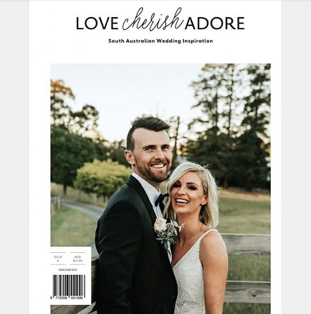 Happy Friyay everyone! Super chuffed to announce that Hayley&Sonja's TOTALLY CUTE-IFUL wedding has been featured in issue #6 of @lovecherishadore SA wedding magazine. See you all at the August #lovecherishadore wedding fair!  I LOVE YOU 3000 to my fellow wedding avengers 📖 X @lovecherishadore  Design X @enoki_design  CELEBRATION X celebrant X @claireparsonscelebrant  Flower power X @fleursdenadia Event styling X @mintymarypeaevents who turned a South Australian fairytale into an actual living dream! . . . . . . . . .  #adelaide #adelaidewedding #adelaideweddingphotographer #australianweddingphotographer #bride #destinationweddingphotographer #hellomay #instabride #lookslikefilm #nouba #southaustralia #theweddingpic #vsco #wedding #weddinginsider #weddinginspo #weddingphotographer #barossa #mclarenvale #togetherjournal #saweddingphotographer #bridetobe #chasinglight #justalittleloveinspo #portraitcollective #instagood