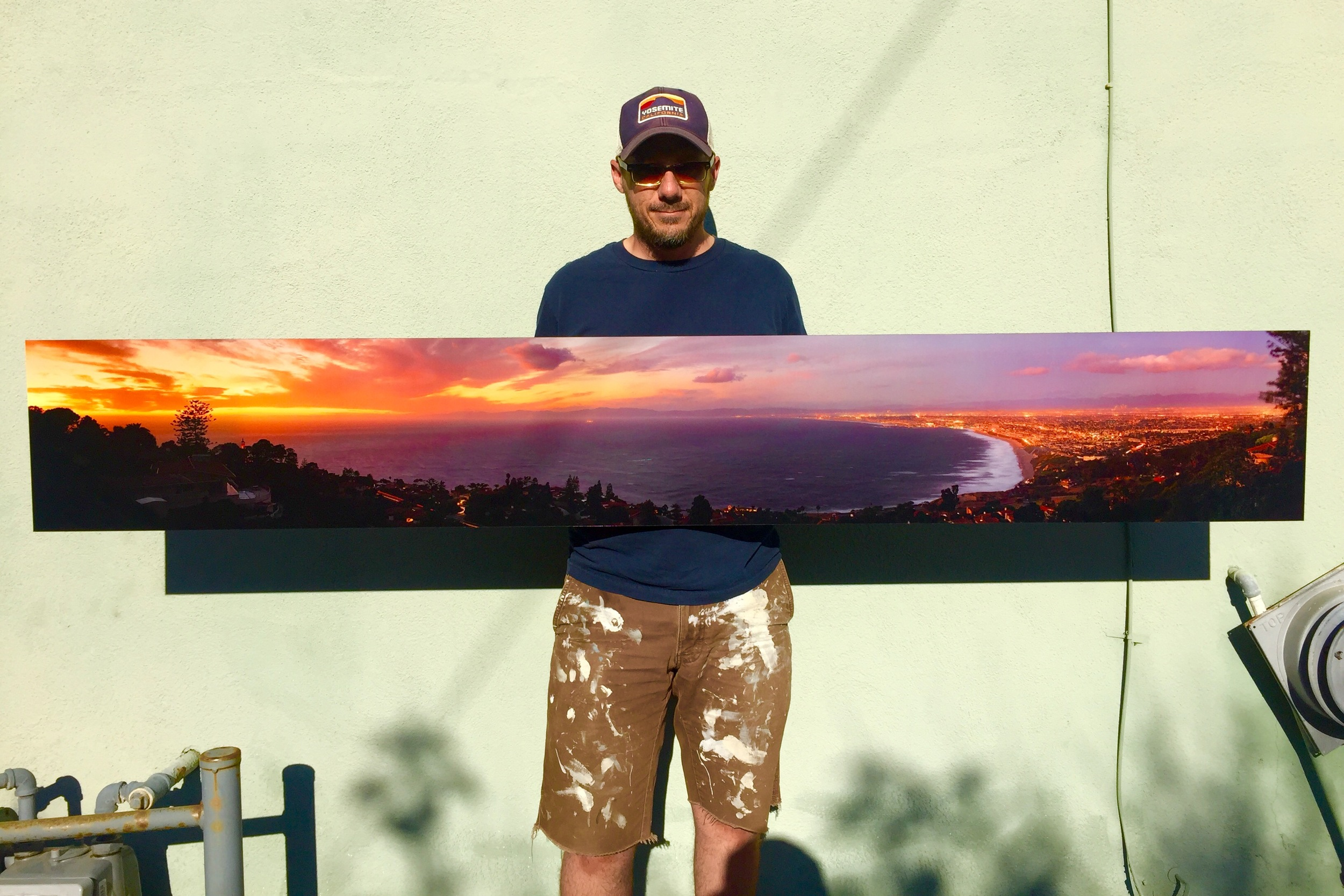 "A recent print for a client.  A big ol' pano printed 12""x80"" at 300dpi."
