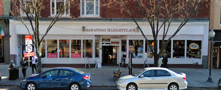 Saratoga Marketplace from Broadway