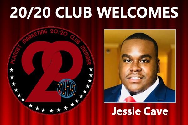 MEET NEW 20/20 CLUB MEMBER JESSIE CAVE!
