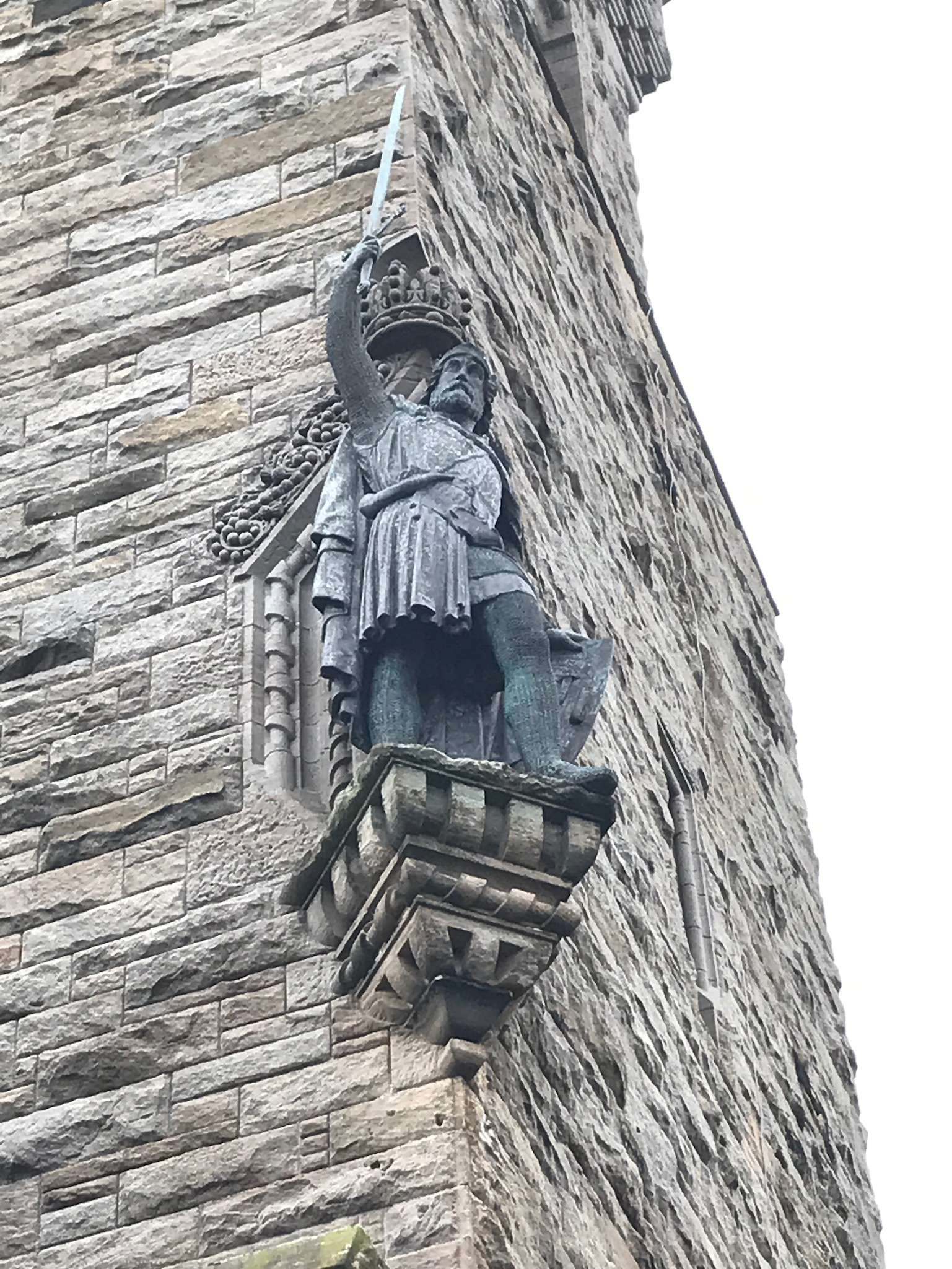 Wallace Monument statue.JPG