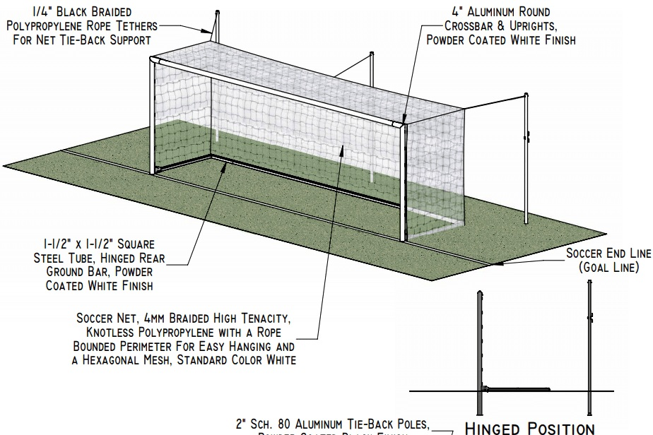 - HOW:100% OF THE PROFITS FROM THE CROSSBAR SOCCER GOALS AT BUCKINGHAM BROWNE & NICHOLS SCHOOL