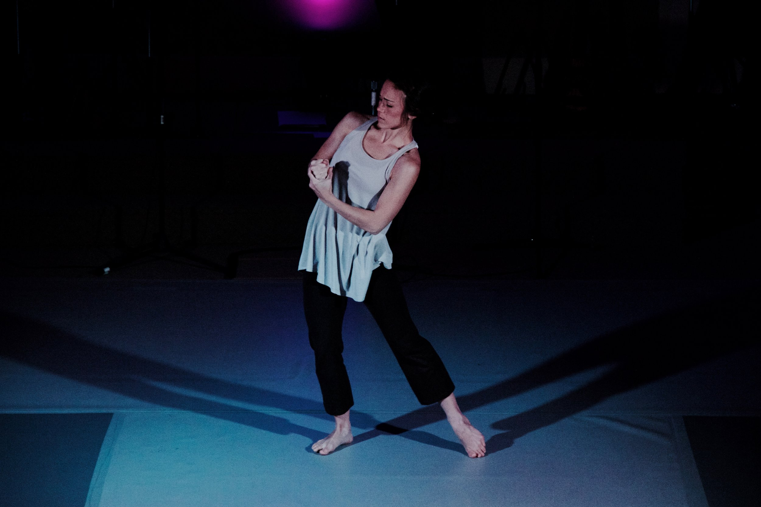 "Dancer Becca Lee opens the song ""Help Me"" with solo dance (from the album  fire in the night)."