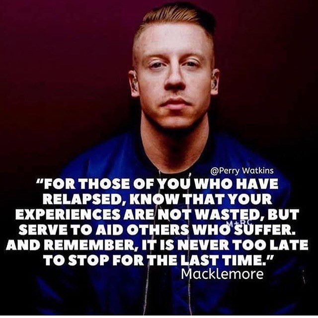Love this! #macklemore #addiction #recovery #addictionrecovery #sobriety #soberlife