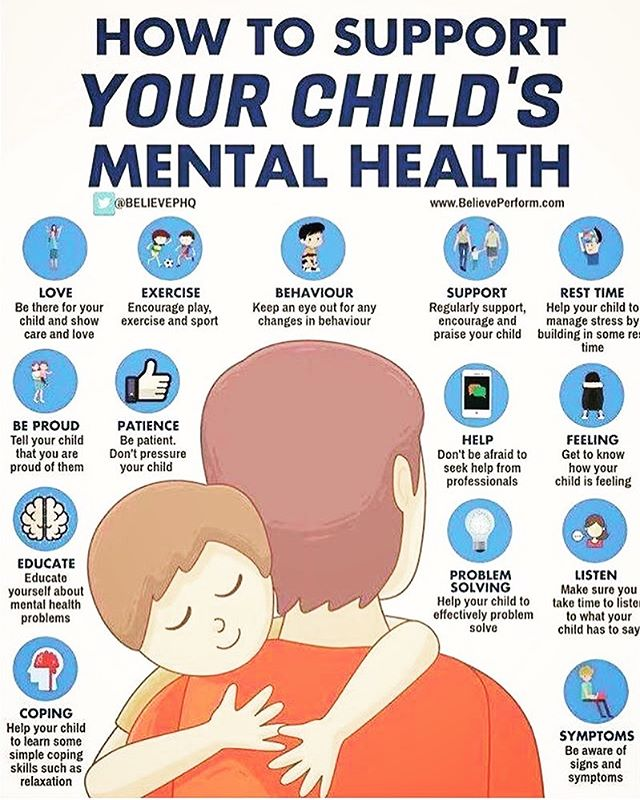 Check out this Biographic on Ways you can Support your children's Mental Health. #mentalhealthawareness #mentalhealth #children #support #parenting #kids