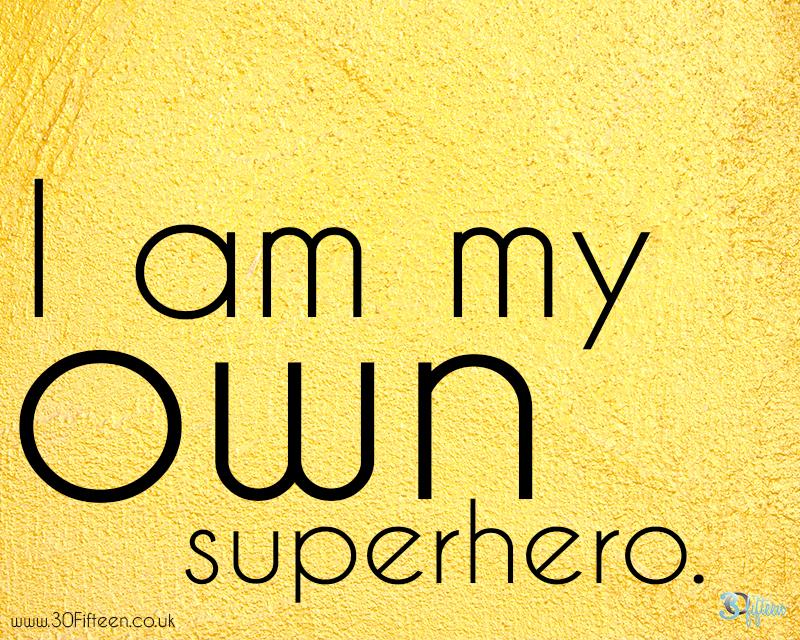 30fifteen my own superhero