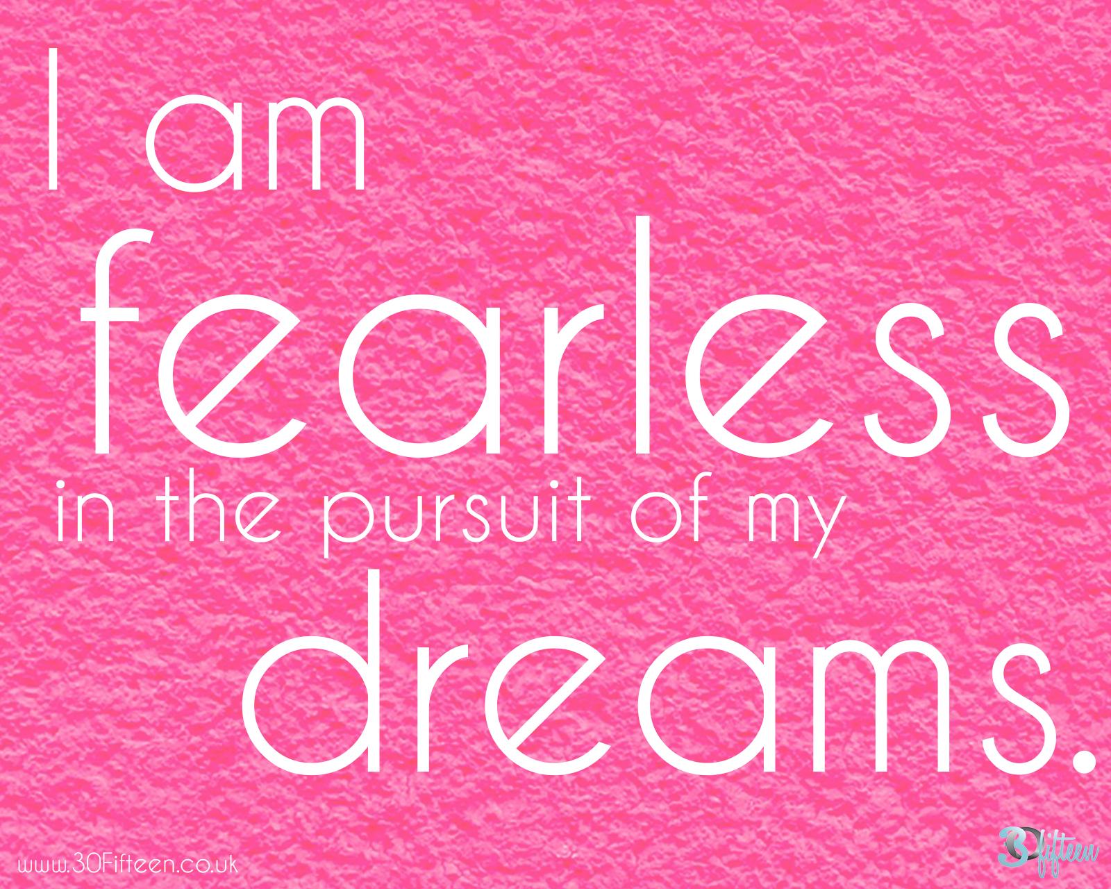 30fifteen dreams pursuit