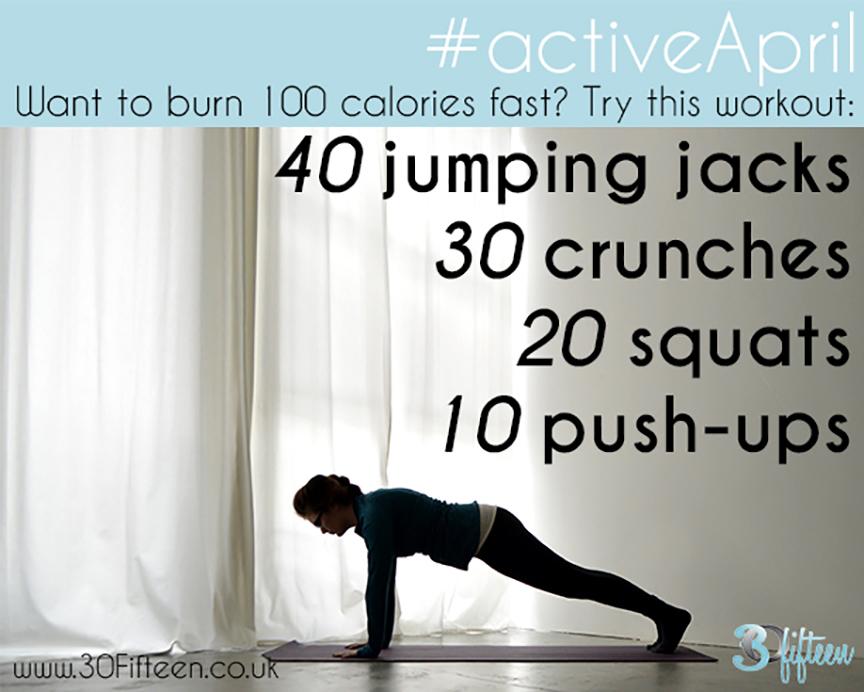 30Fifteen Active April workout