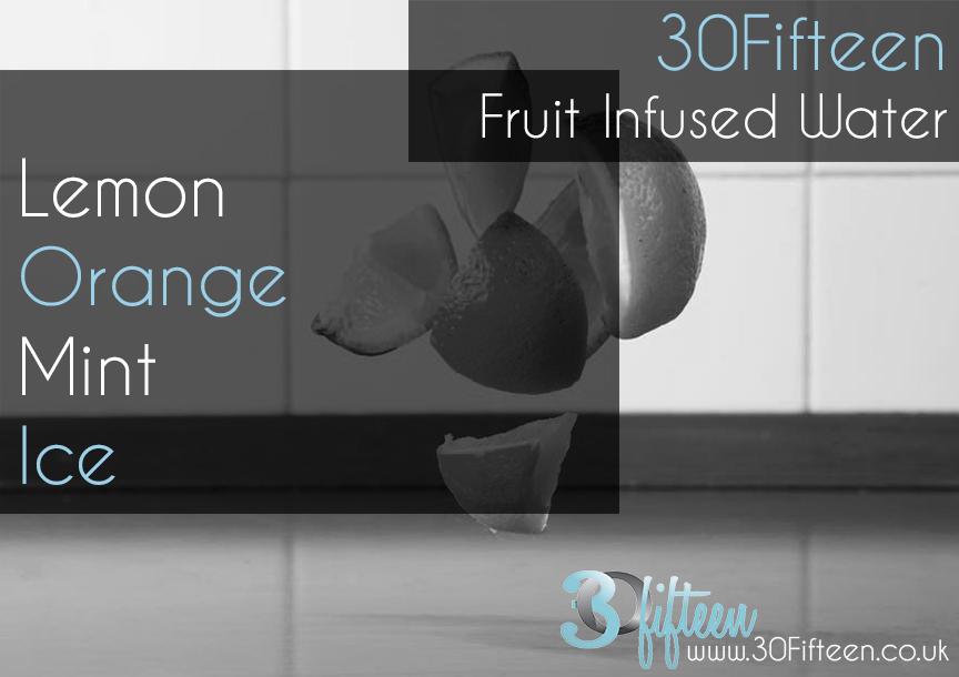 30Fifteen Fruit infused water recipe